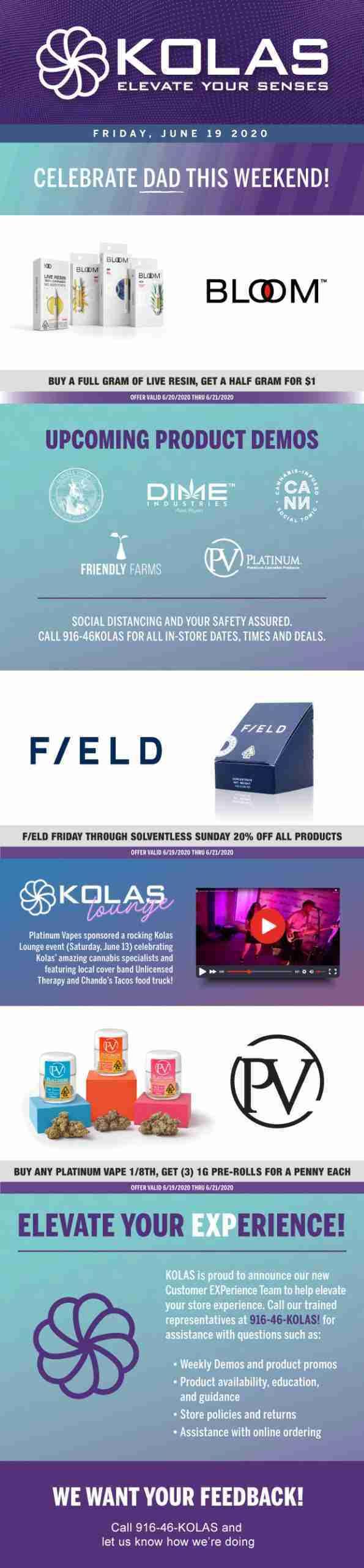 Kolas Newsletter - June 19th